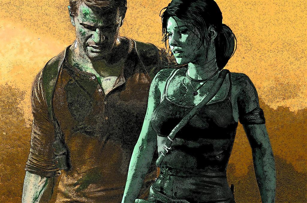 Lara Croft And Nathan Drake: Lara Croft + Nathan Drake Coomic By Dodox90 On DeviantArt