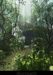Forest Light by Cean-Herzfield