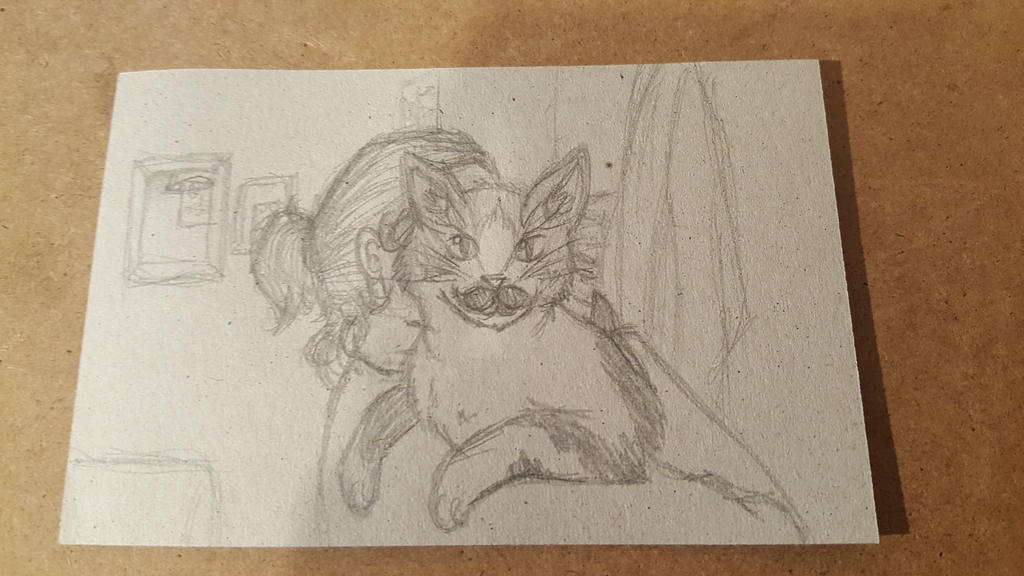 Thor - Cat Sketches 3 by STAR1518jb