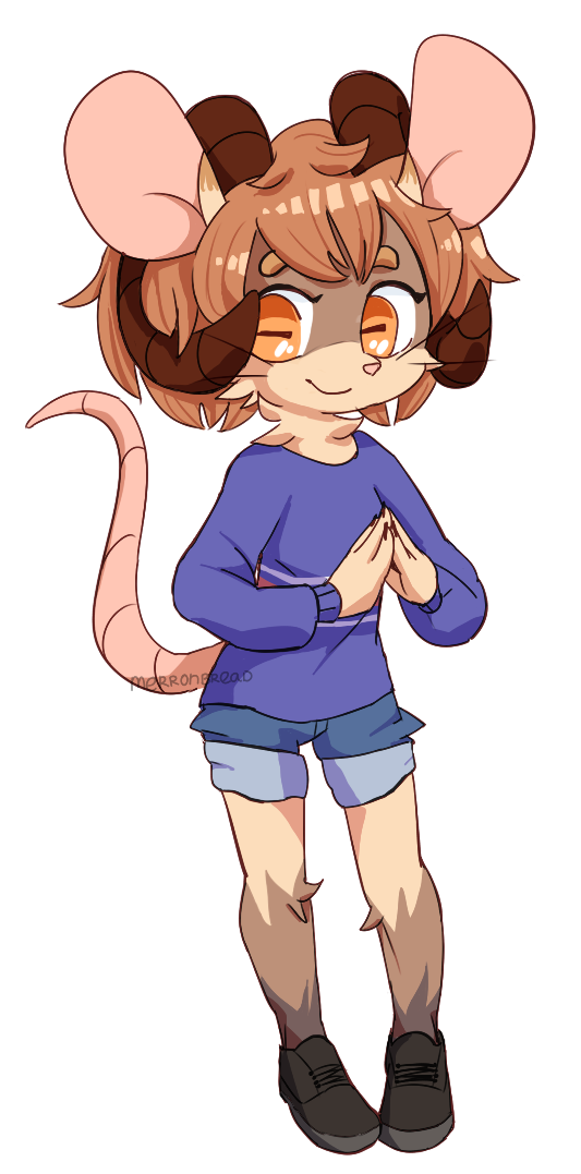 katehhs mouse but anthro by DerpCat
