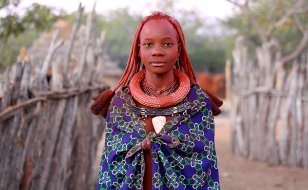 Himba Girl by enohla