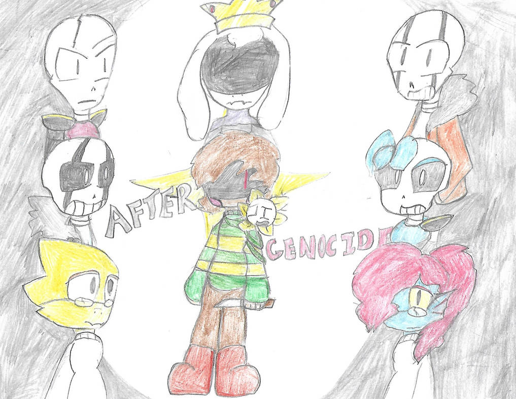 After Genocide(An original Undertale AU) Cover by