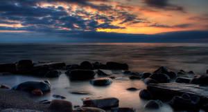 Sunset Over Superior by DaishiMkV