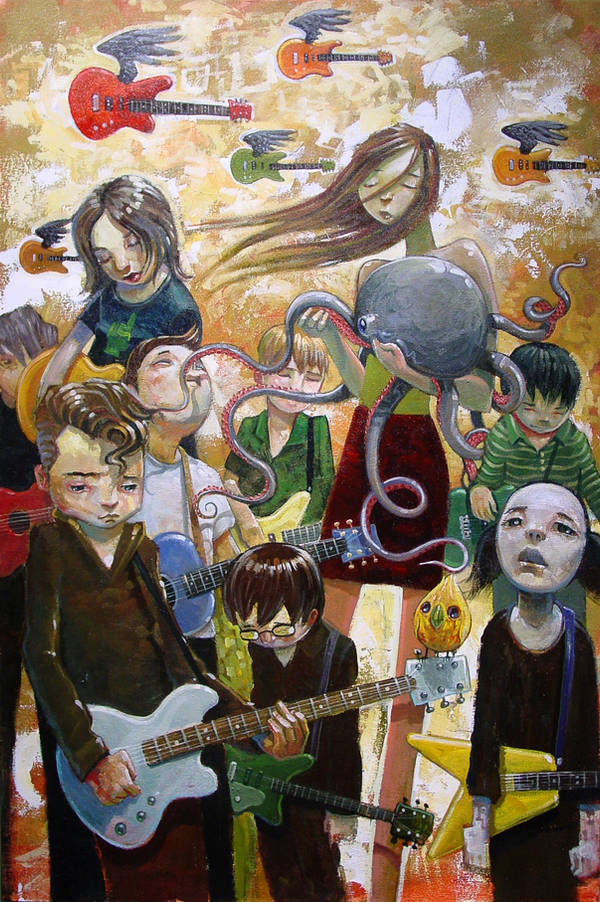 Tentacles of the Muse by jasinski