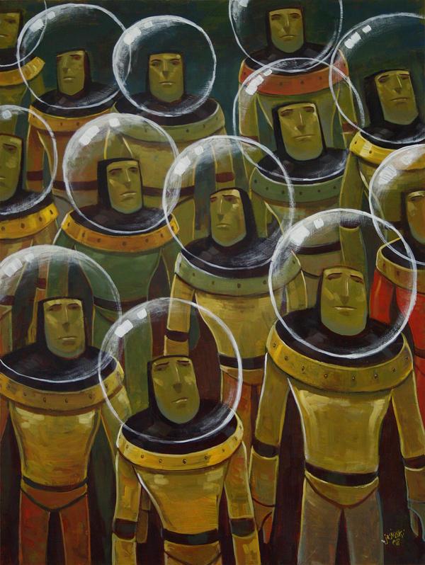 Brave Explorers of Yesteryear by jasinski