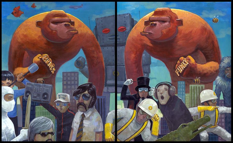 Brass vs. Funky by jasinski