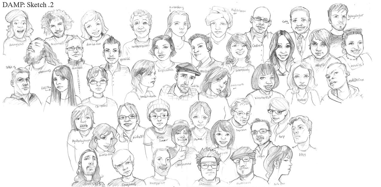 DAMP sketch 2 by jasinski