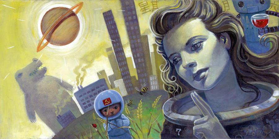 Utopian Fruits of Labor by jasinski