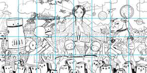 G40 Mural - Sketch Prep