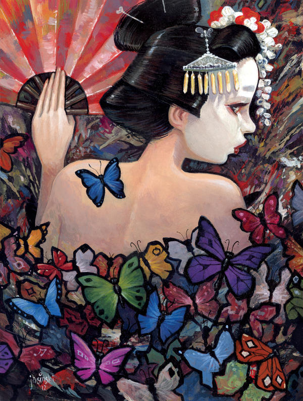 Madame Butterfly by jasinski