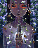 Pistol and Stamen by jasinski