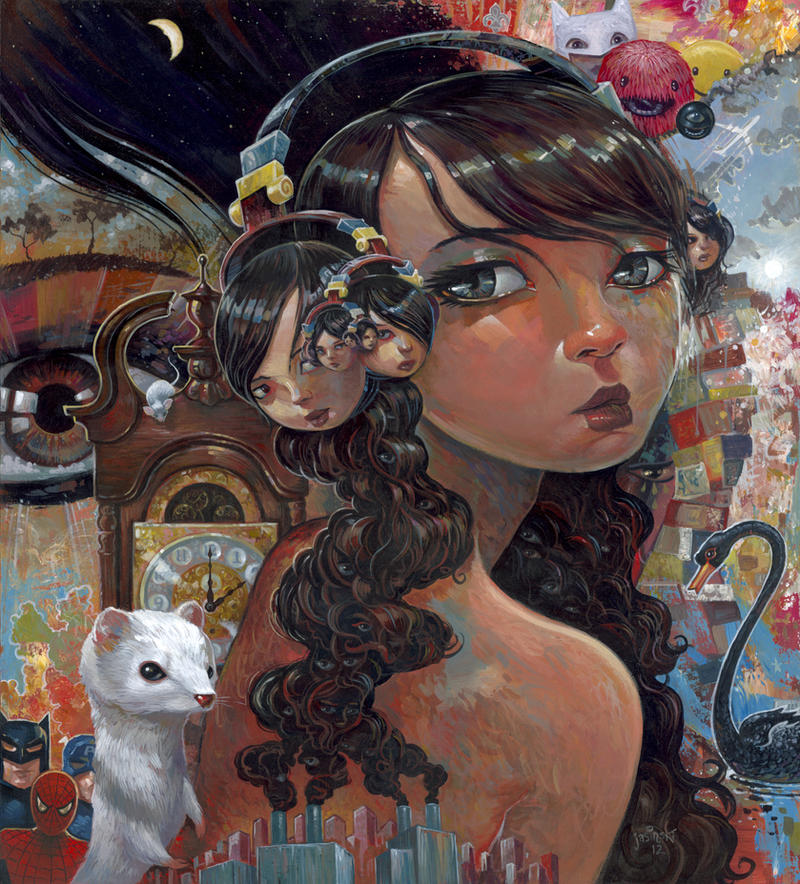 Eyes Like Infinity by jasinski