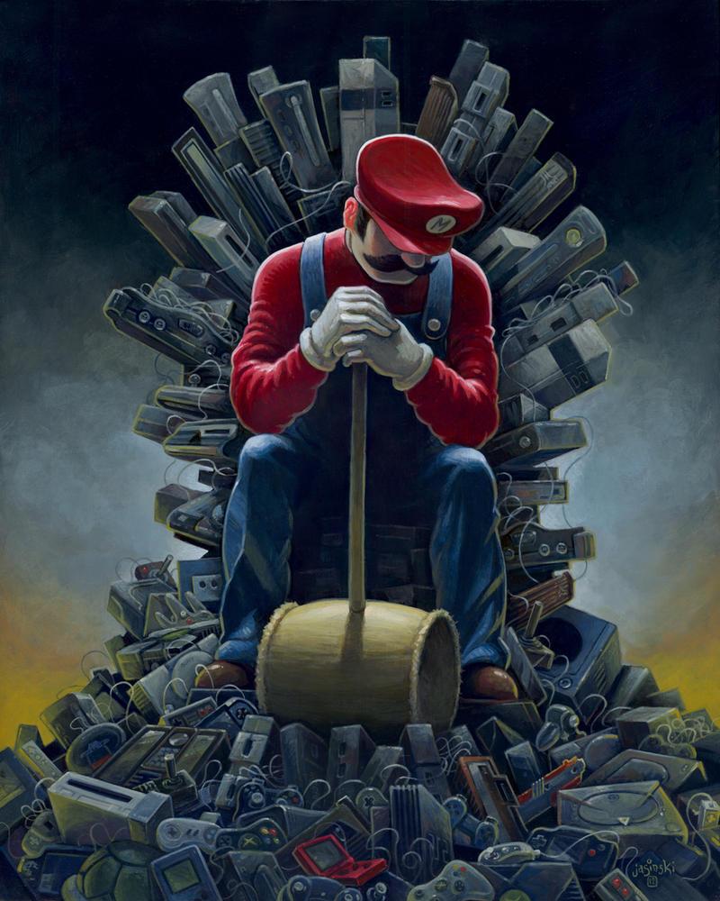 throne of games by jasinski on deviantart