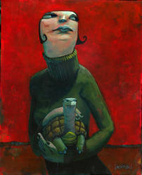 Portrait of Turtle by jasinski