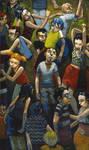 Linear Crowds