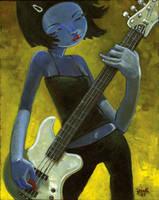 The Bass Player by jasinski