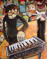 My Fabulous MicroMoog by jasinski