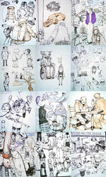 Recent Sketches by jasinski