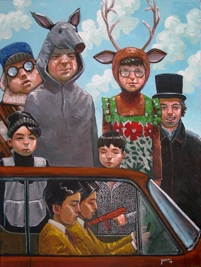 Waiting for Cusack by jasinski