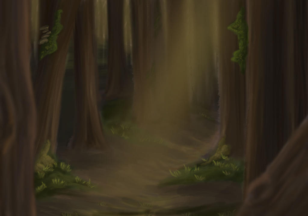 Forest Concept 1 by Finf