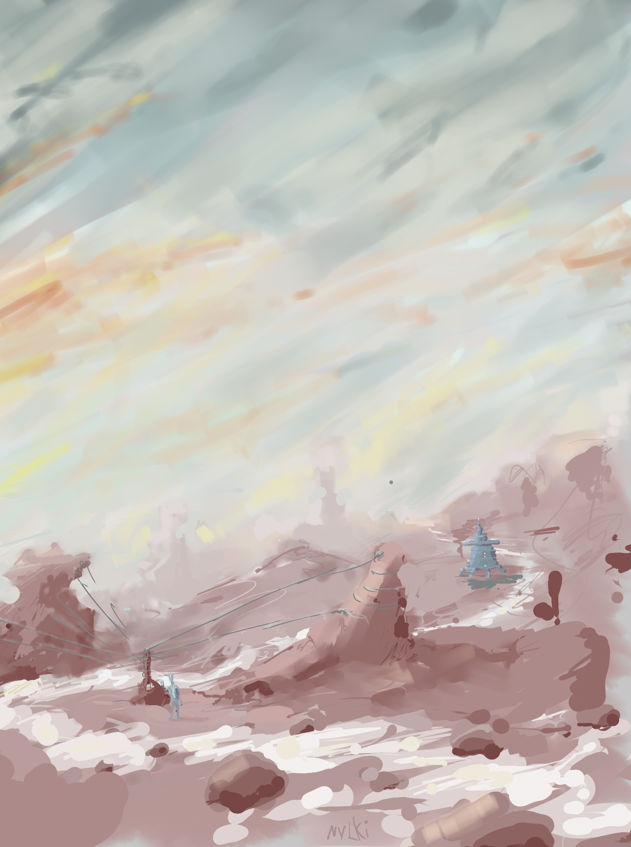 Reddish Hills by tombru