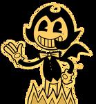 : Bendy Demon's Cardboard AU :