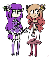 : Forest Sisters (Cuphead New OCs) :