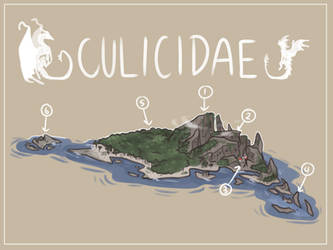 Culicidae (VENOM/CLIFFWING ISLAND) by Gr77n