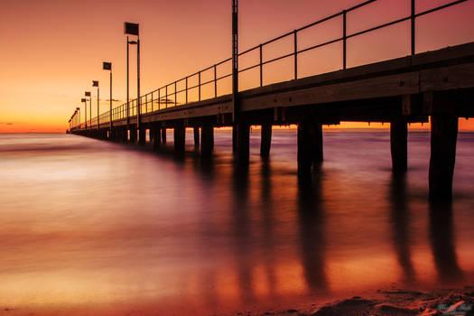Frankston Pier at Sunset