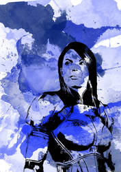 Ashley Williams Watercolour