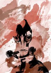 Mordin Solus Watercolour