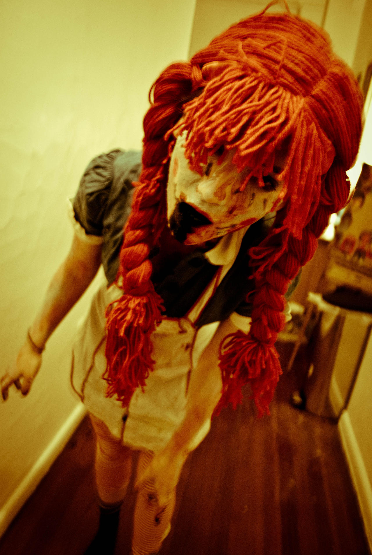 raggedy ann zombie by frozen intime on deviantart