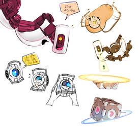 portal doodles
