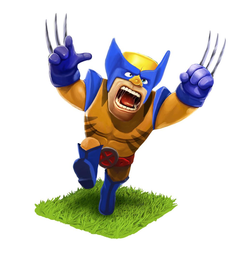 Clash Of Clans Meet X-men By Amao2006 On DeviantArt