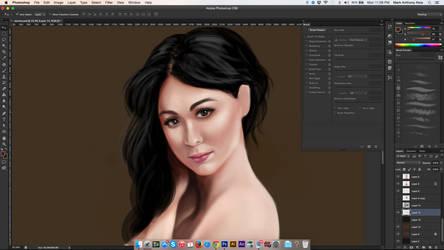 Digital Painting Practice WIP