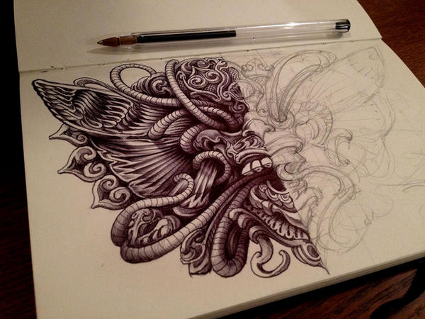 Balisnakes2 by bennett klein on deviantart for Bennett klein coloring pages