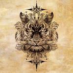 Tiger tattoo design
