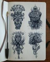 Character doodles02 by Bennett-Klein