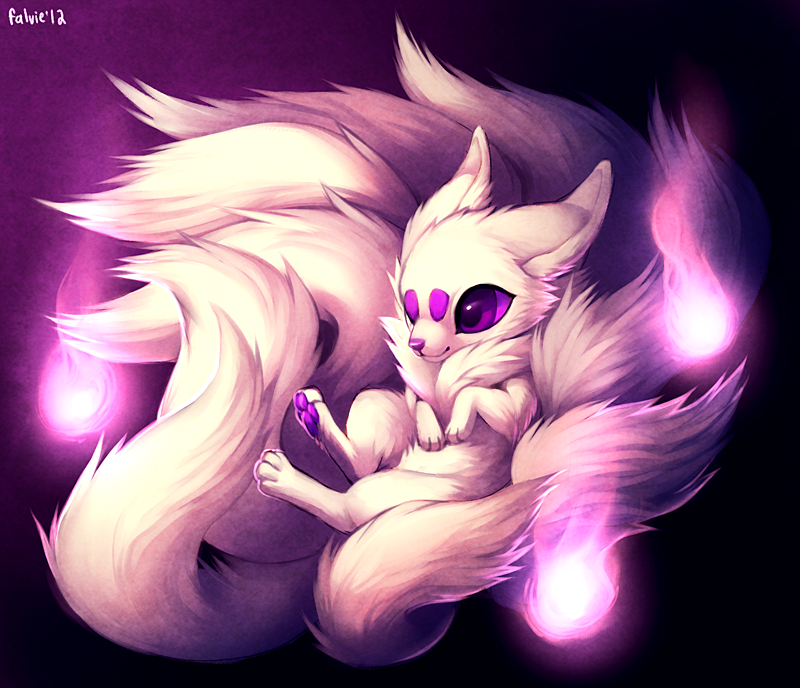 Baby Purple Kyuubi By Falvie KorSJK