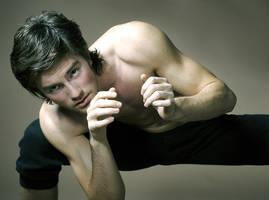 capoeira dancer by D3nde