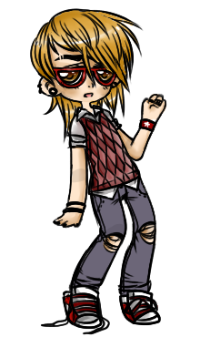 Boy with a vest adopt .:OPEN:. by EmrysaAlbiona