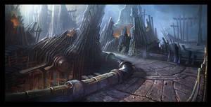 Steel ruins by gypcg