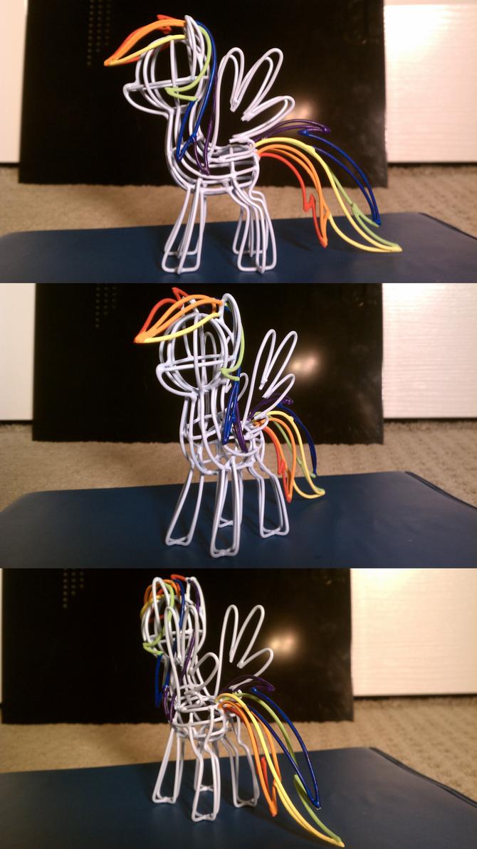 Mini Rainbow Dash by eightup747