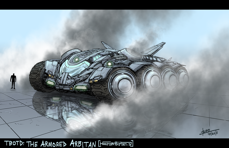 The Armored Arbitan by danotronxx