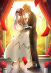 Naruto and Erza wedding