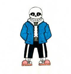 Sans the skeleton by DeltashockOmnihorn