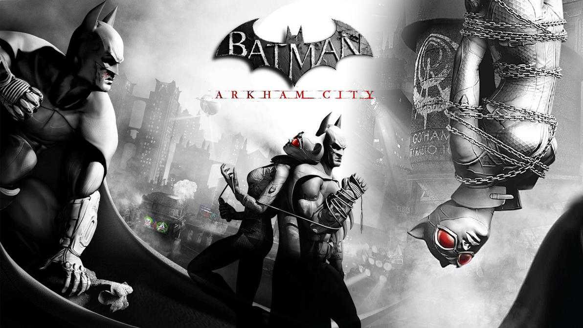 Batman Arkham City Wallpaper 1 by heyPierce