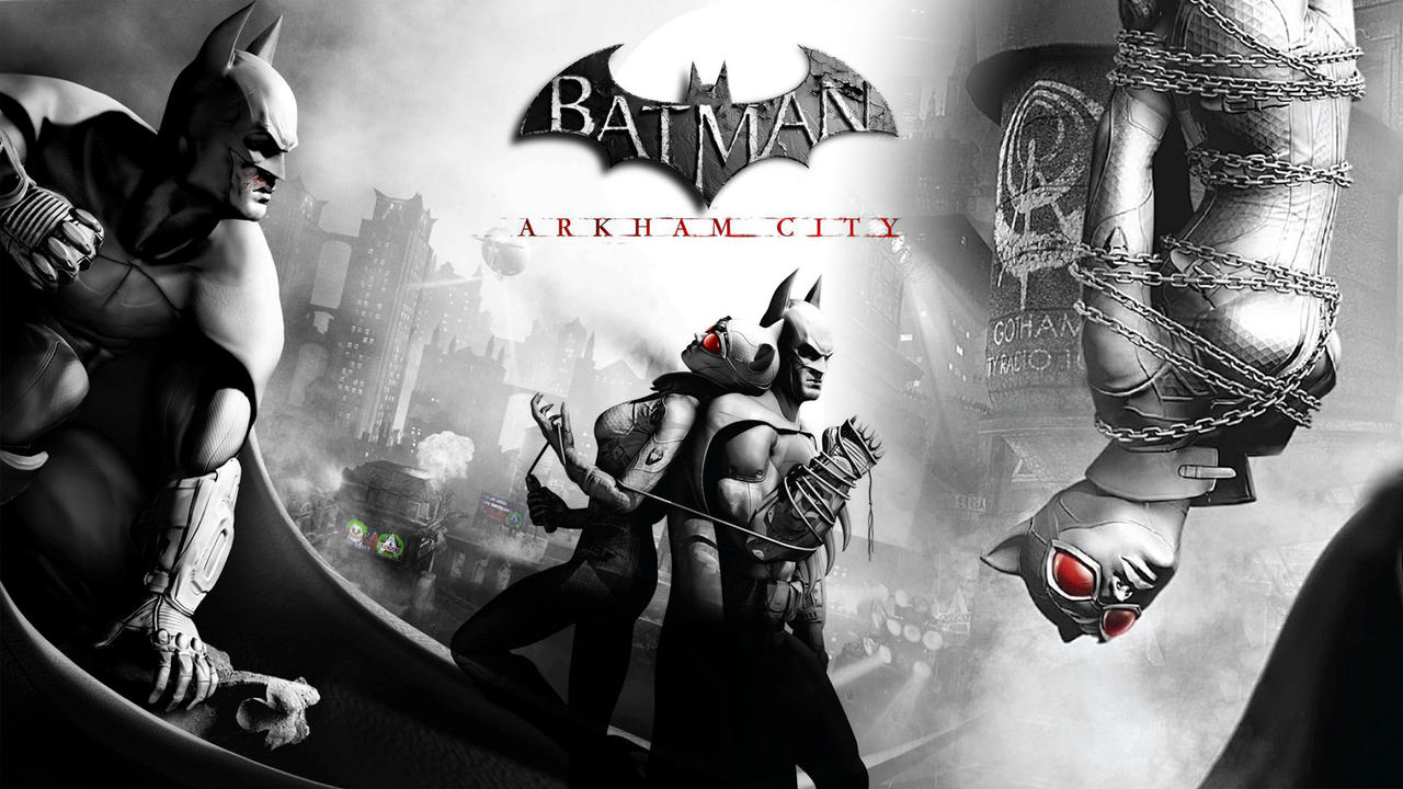 Batman Arkham City Wallpaper 1 by heyPierce