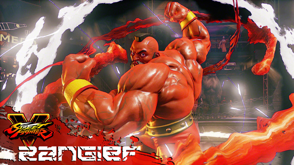 SFV Zangief Wallpaper by heyPierce