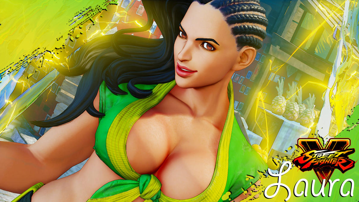 SFV Laura Wallpaper by heyPierce